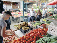 שוק מזון / Ammar Awad ,רויטרס