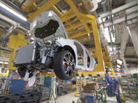 קו ייצור במפעל רכב. / צילום?: רויטרס Philippe Wojazer