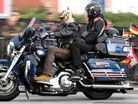 אופנוע גדול של הארלי./ צילום: רויטרס, Fabian Bimmer