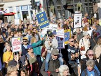 הפגנה נגד הברקזיט / Simon Dawson , צילום: רויטרס