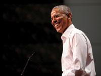 ברק אובמה / צילום: רויטרס, Mike Blake