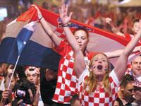מעודדות של נבחרת קרואטיה  / צילום: רויטרס Antonio Bronic