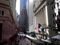 בניין הבורסה של ניו יורק בוול סטריט / צילום: רויטרס, Mike Segar