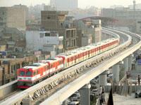רכבת מטרו שסין בנתה לפקיסטן / צילום:  רויטרס, Mohsin Raza