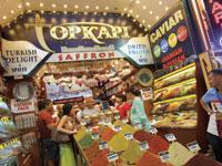 שוק התבלינים באיסטנבול/  צילום : רויטרס Tony Gentile