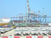 כלי רכב בנמל אשדוד / צילום: תמר מצפי