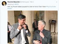 ג'רום פאואל (מימין) מתוך חשבון הטוויטר של מאוריסיו בסיונן