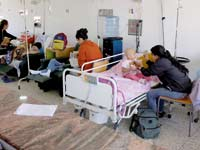 בית חולים בקרקאס / צילום: רויטרס