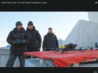 """הקמפיין """"מעל האזור הארקטי"""" של אינטל. הפקה פנימית    צילום: יח""""צ"""