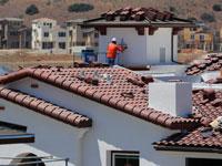 פרויקט בנייה בקליפורניה. / צילום: רויטרס, Mike Blake