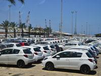 נמל אשדוד רכבים/ צילום: תמר מצפי