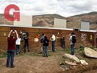 """אריזונה, חומת הגבול שבין ארה""""ב למקסיקו / צילום: רויטרס - Jorge Duenes"""