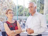 דוד דרעי ואסתר לבנון / צילום: יוני רייף