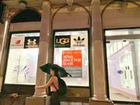חנות נטושה במנהטן/ צילום: שני מוזס