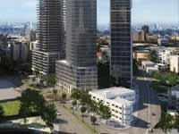 הדמיה של המגדל בצומת עלית/ צילום:  טיטו אדריכלים