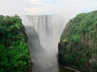 מפלי ויקטוריה, זימבבואה  / צילום: רויטרס