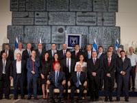 ממשלת נתניהו מושבעת, מאי 2015 / צילום: ליאור מזרחי