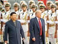 דונלד טראמפ ושי ג'ינפינג / צילום: רויטרס