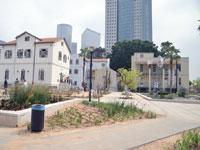 מתחם גני שרונה בתל אביב / צילום: תמר מצפי