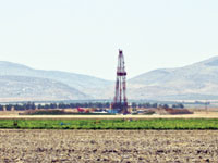 הקידוח בעמק יזראל / / צילום אתר החברה
