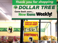 חנות Dollar Tree./ צילום: ריק ויקינג, רויטרס