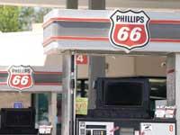 """תחנת דלק של פיליפס 66 בארה""""ב / צילום: Rick Wilking - רויטרס"""