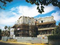 """פרויקט תמ""""א 38 בבנייה / צילום: שלומי יוסף"""