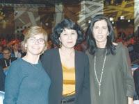 דורית סלינגר, חדוה בר, מיכל הלפרין / צילום: איל יצהר