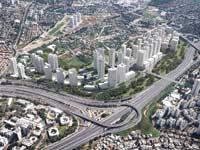 שכונת נאות אריאל שרון - בין קרית אונו לרמת גן / הדמיה: עיריית קרית אונו