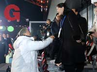 קים יו ג'ונג , מון ג'יאה אין / צילום: רוייטרס - Yonhap via