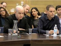 גיל עומר ואלדד קובלנץ / צילום:דוברות הכנסת יצחק הררי