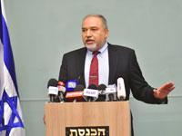אביגדור ליברמן מודיע על התפטרות/ צילום: רפי קוץ