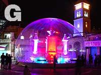 עיר לובשת אור, כיכר המוריסטן / צילום: יותם יעקבסון