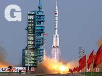 שיגור סיני לחלל / צילום: רויטרס - Jason Lee