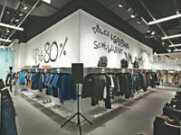 """חנות פופ-אפ של פקטורי 54 בקניון TLV בת""""א/ צילום: חן וגשל"""
