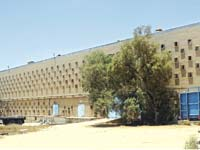 מפעל כיתן הנטוש בדימונה / צילום: רם מרש אדריכלים