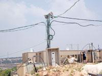 הבניה בברקן / צילום: אלון רון