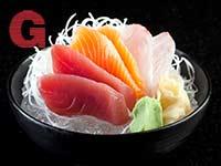 מנת סשימי ביקימונו / צילום: מיטל סולומון