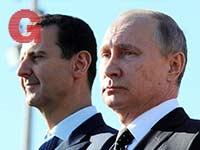 אסד עם פוטין / צילום:  רויטרס - Sputnik Mikhail Klimentyev