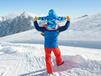 סקי משפחתי / צילומים: Shutterstock | א.ס.א.פ קריאייטיב
