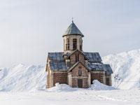 גודאורי. כנסייה פרובוסלבית מסורתית / צילום: צילומים: Shutterstock | א.ס.א.פ קריאייטיב