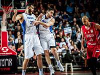 """נבחרת ישראל בכדורסל / צילום: אתר פיב""""א"""