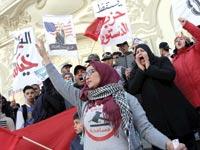 מפגינים בתוניסיה / צילום: רויטרס, Zoubeir Souissi