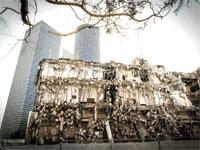 הריסת בנין ידיעות אחרונות / צילום: שלומי יוסף