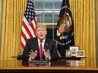 הדיל של טראמפ לאמריקה: תנו לו מחסום של פלדה, הוא ייתן לכם ממשלה