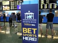 """מרכז הימורי ספורט חוקי בארה""""ב / צילום: מייק סגר, רויטרס"""