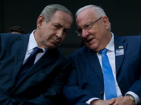 ראובן ריבלין נשיא המדינה   בנימין נתניהו  ראש הממשלה / אוהד צויגנברג ידיעות אחרונות