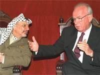 """יצחק רבין ויאסר ערפאת  / צילום: לע""""מ"""