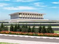 הדמייה של הרחבת הכנסת / צילום: פלג אדריכלים