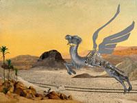 גמלים עפים באוויר/ צילום: עיחצ שבוע העיצוב